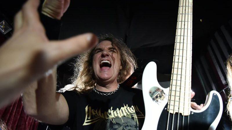 DAVID ELLEFSON (Megadeth)+ guests: le foto del Basstory Clinic a Torino