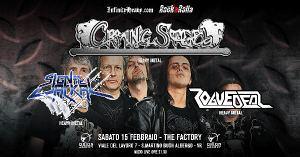 Crying Steel alThe Factory a Febbraio