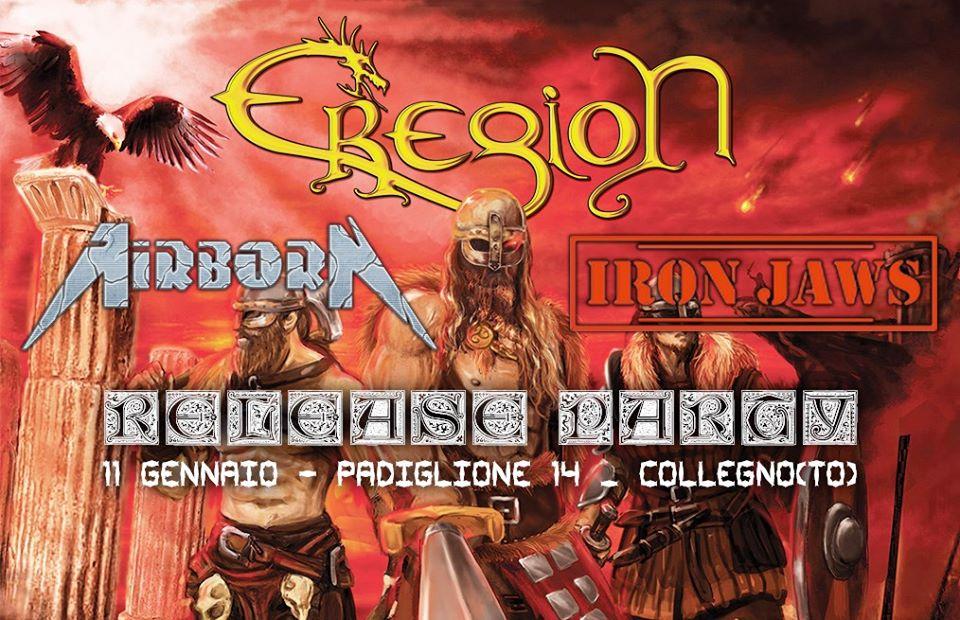 Release party del nuovo album degli Eregion: le foto