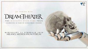 Dream Theater in concerto per due date italiane