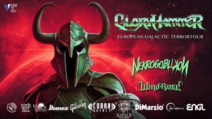 GloryHammer: dal vivo per una data a Milano, cambio location!