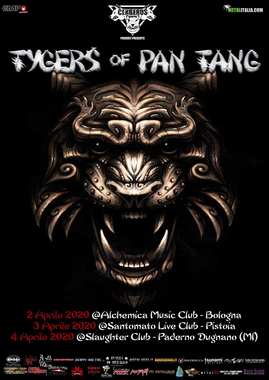 TYGERS OF PAN TANG: in Italia ad aprile per 3 date