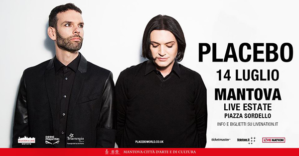 Unica data italiana per i Placebo a luglio