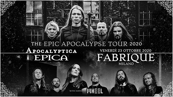 Apcalyptica ed Epica insieme per uno show unico a Milano