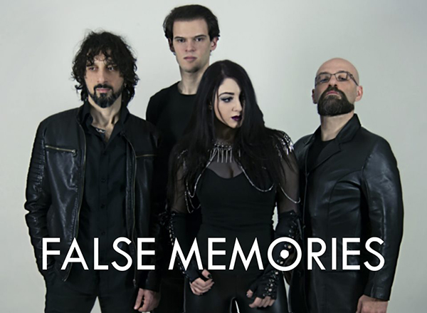 "Cover di ""Vacanze Romane"" per i dark metallers False Memories"
