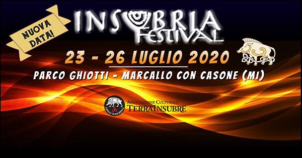 Rimandato a Luglio l'Insubria Festival 2020