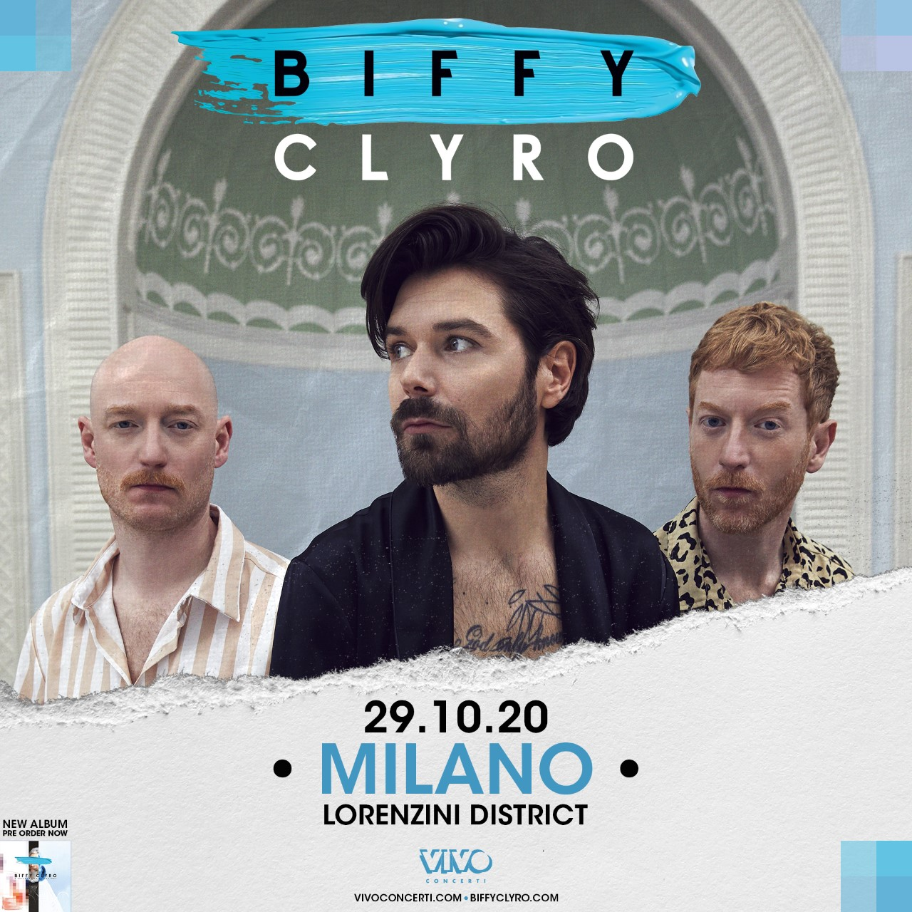 BIFFY CLYRO: unica data a Milano
