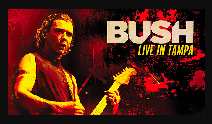 BUSH: in arrivo 'Live In Tampa' in DVD + Blu-ray + CD