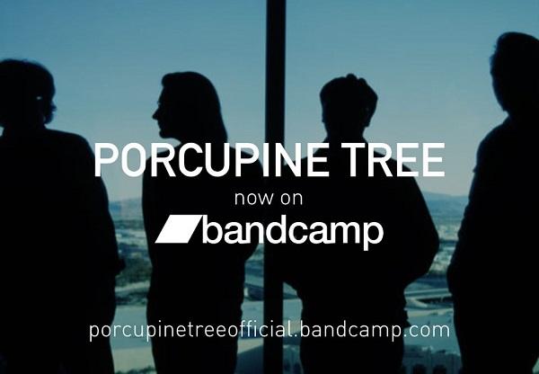 PORCUPINE TREE: disponibili inediti e rarità su Bandcamp