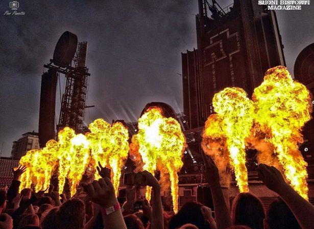 RAMMSTEIN: le foto del concerto al Ratina Stadium di Tampere