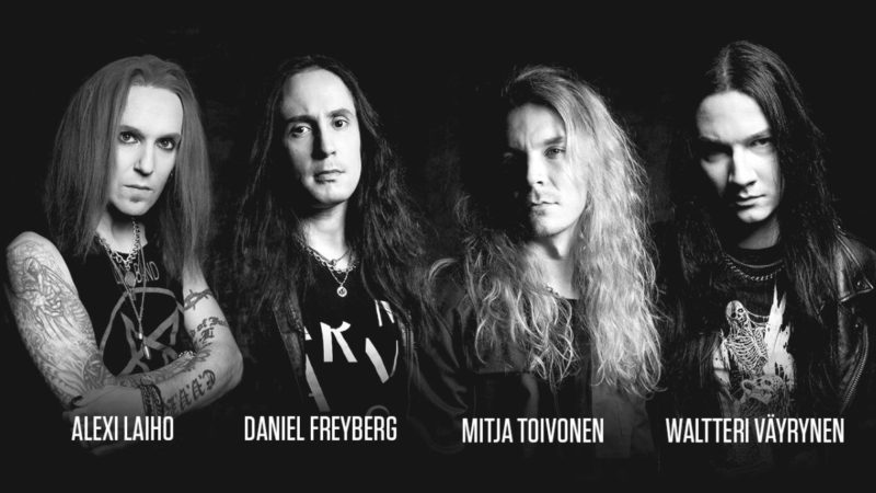 BODOM AFTER MIDNIGHT: il video della nuova 'Paint The Sky With Blood'
