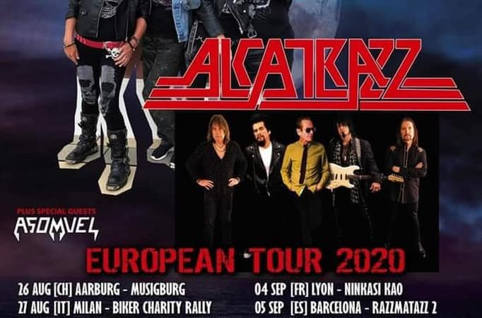 GIRLSCHOOL e ALCATRAZZ: in Europa ad agosto-settembre, una data italiana