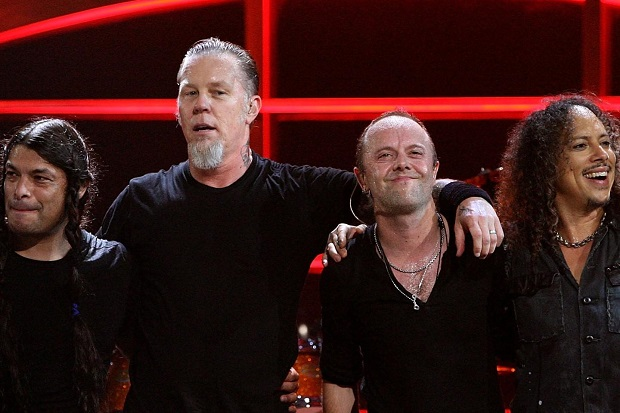 METALLICA: all'opera in sala prove