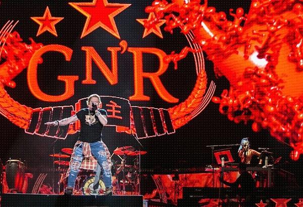 Guns N' Roses: suonano dal vivo nonostante il Coronavirus (Video)