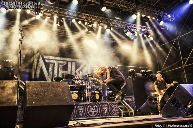 ANTHRAX, DESTRAGE e altri al Metal For Emergency 2019: tutte le foto