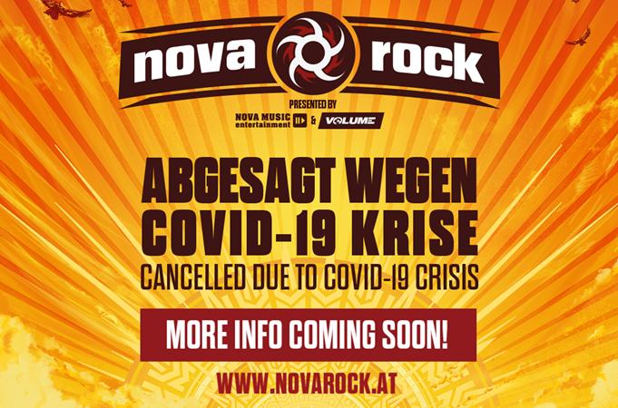 NOVA ROCK FESTIVAL: edizione 2020 annullata