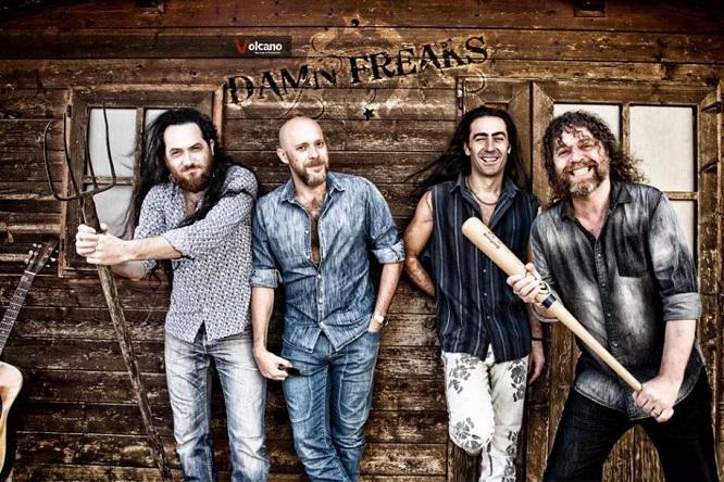 DAMN FREAKS: i dettagli del nuovo album 'Love In Stereo'