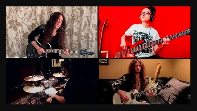 "MARTY FRIEDMAN suona 'Self Pollution' nella ""Home Jams version"" (Video)"