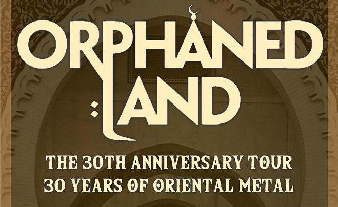 ORPHANED LAND: tour per il 30° anniversario, tre le date in Italia