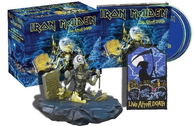 IRON MAIDEN: l'esclusivo box di 'Live After Death' e la ristampa di 'Rock In Rio'