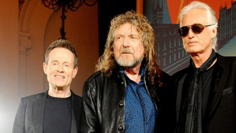 "LED ZEPPELIN: live ""Celebration Day"" in streaming il 30 maggio"