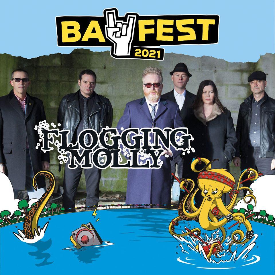 BAY FEST 2021: FLOGGING MOLLY presenti nel 2021