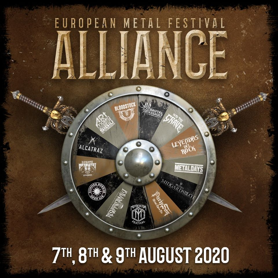 EUROPEAN METAL FESTIVAL ALLIANCE: L'unione di alcuni festival europei per un evento in streaming