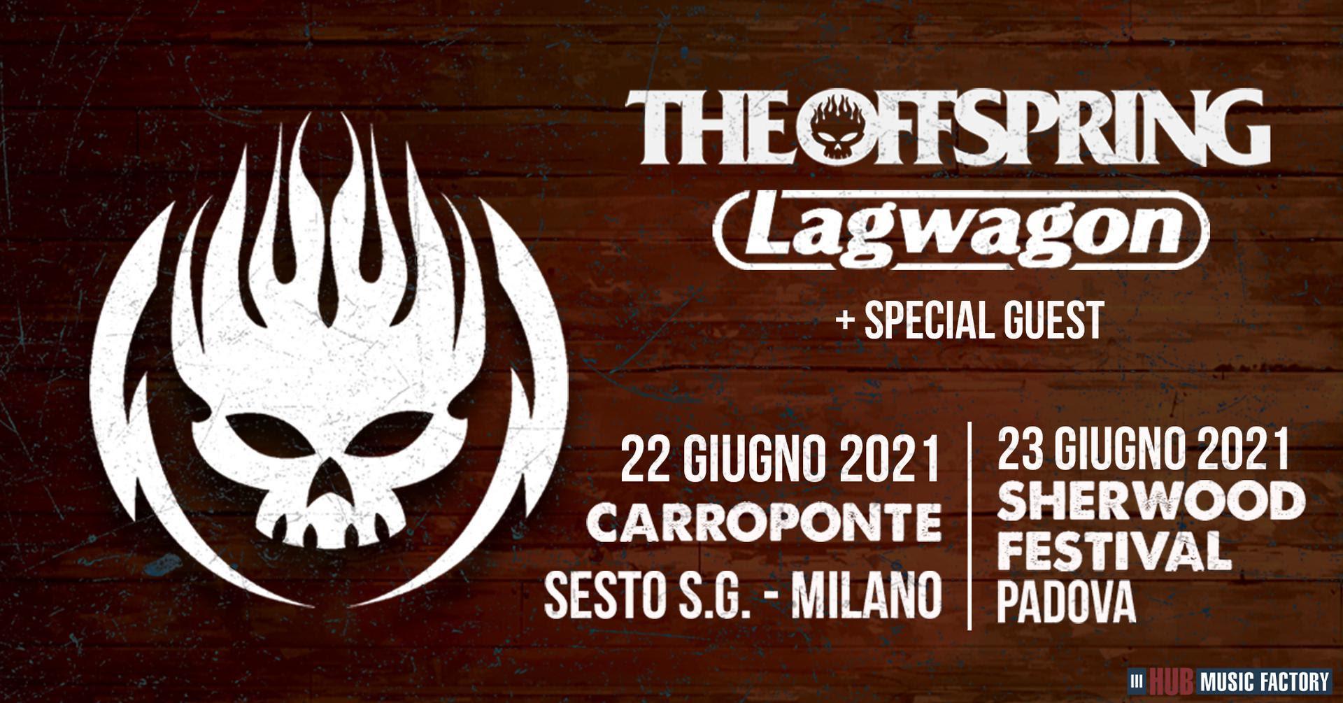 THE OFFSPRING, LAGWAGON: le date italiane rinviate al 2021