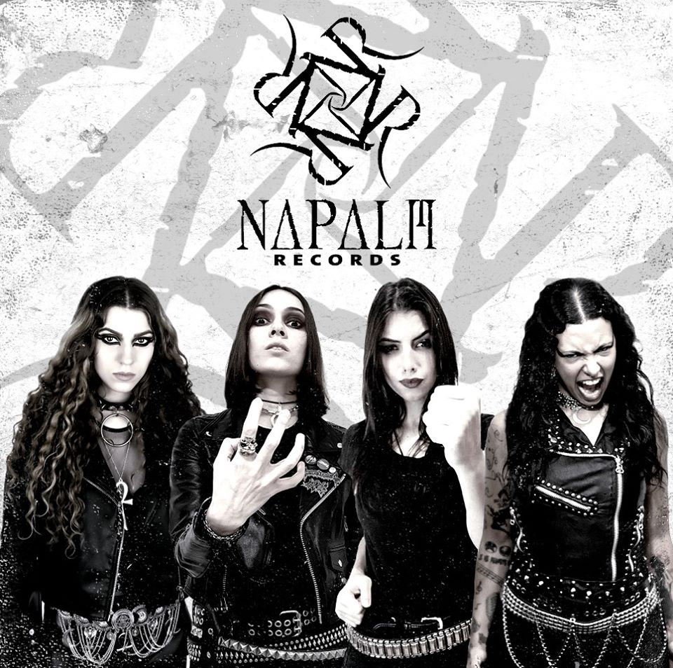 CRYPTA: contratto con la Napalm Records