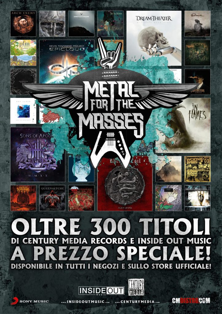 METAL FOR THE MASSES: la campagna 2020 di Century Media Records/Inside Out Music