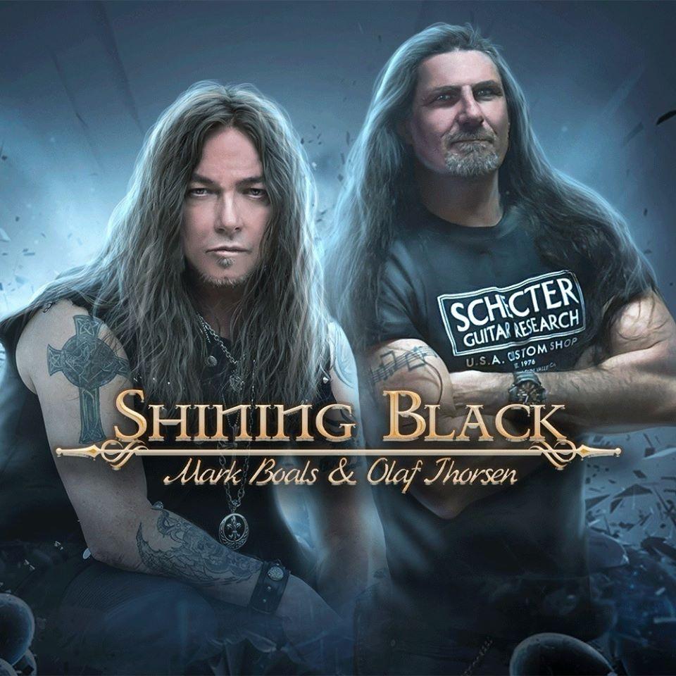 SHINING BLACK con Mark Boals e Olaf Thorsen: anteprime dal debutto