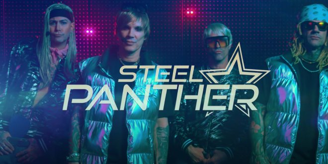 """STEEL PANTHER: 'Let's Get High Tonight' video in versione """"boy band"""""""