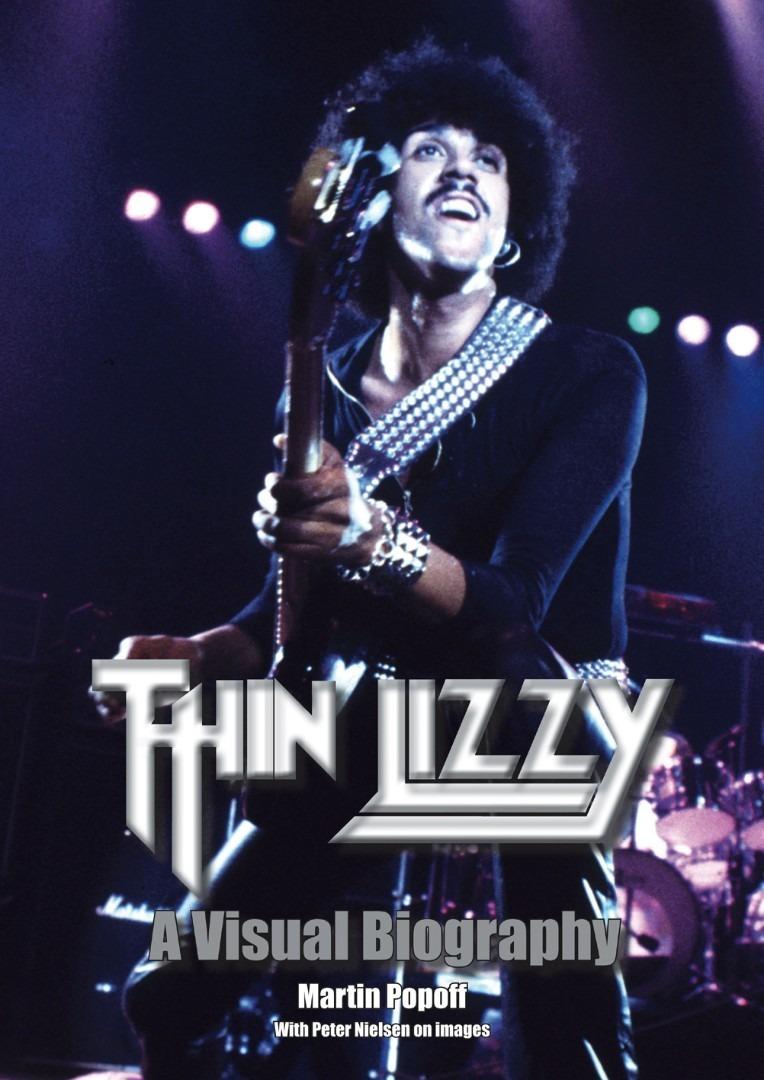 """THIN LIZZY: il libro """"Thin Lizzy: A Visual Biography"""" uscirà a ottobre"""