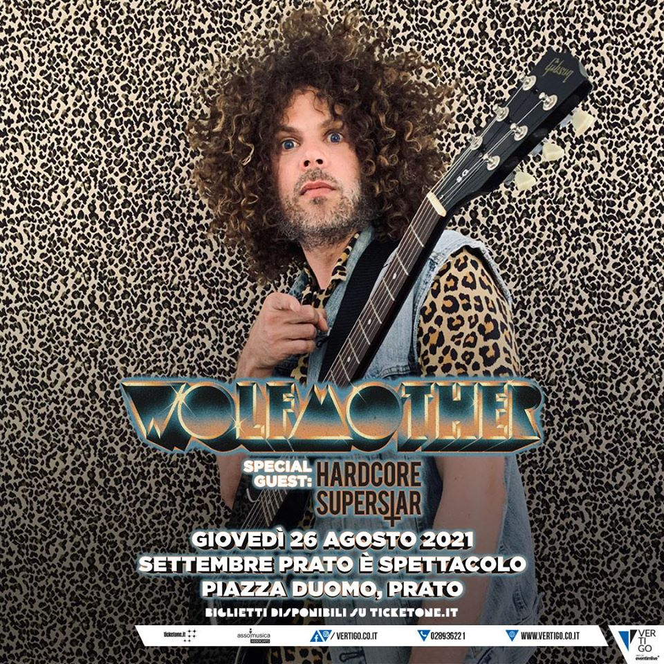 WOLFMOTHER: rimandato al 2021 il concerto di Prato con gli HARDCORE SUPERSTAR