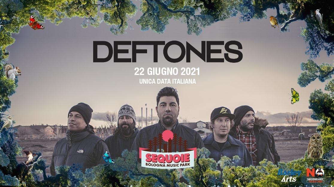 DEFTONES: suoneranno al Sequoie Music Park di Bologna nel 2021