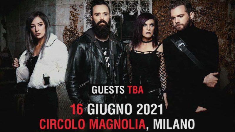 SKILLET: recuperate 2 date italiane nel 2021