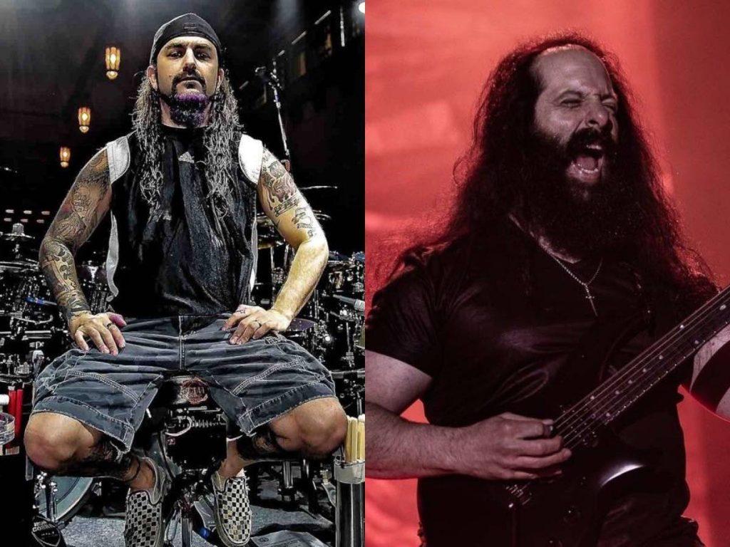 """JOHN PETRUCCI: Mike Portnoy ha suonato su """"Terminal Velocity'"""