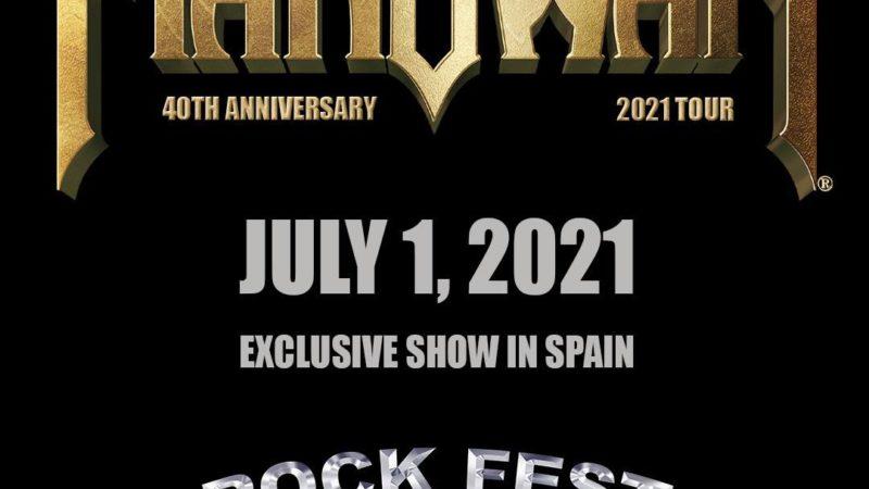 MANOWAR: confermati al ROCKFEST BARCELONA 2021