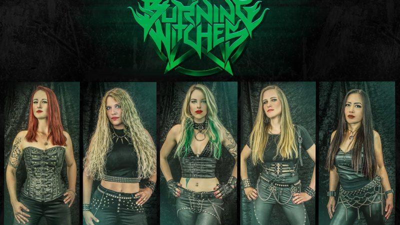 BURNING WITCHES: presentano la nuova chitarrista