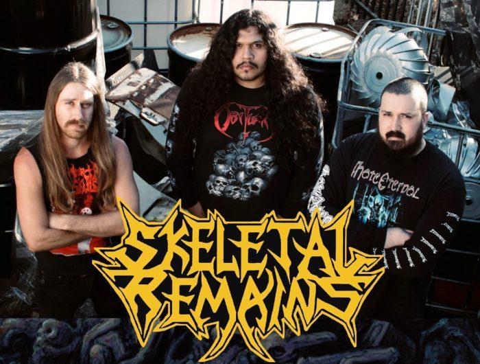 "SKELETAL REMAINS: video di ""Congregation of Flesh"" e preorder di ""The Entombment Of Chaos"""