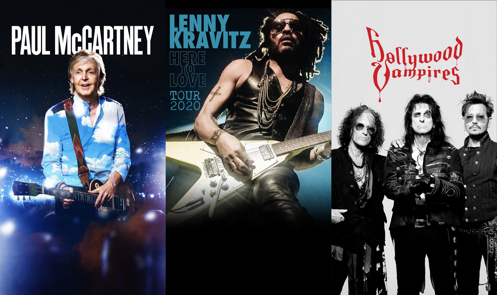 D'Alessandro e Galli: i live di Paul McCartney, Lenny Kravitz e Hollywood Vampires saranno rimborsati