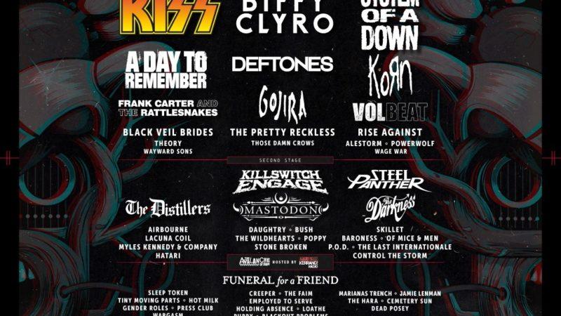 DOWNLOAD FESTIVAL 2021: annuncio degli headliner e altre band