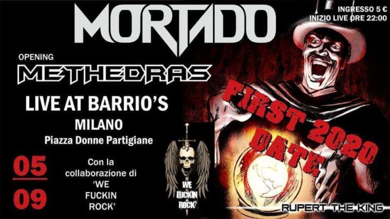 MORTADO E METHEDRAS: una data al Barrio's di Milano a settembre