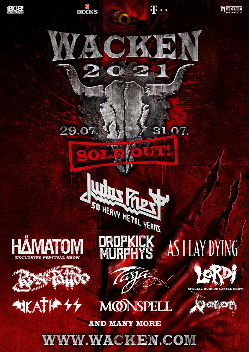 WACKEN OPEN AIR 2021: le prime band confermate