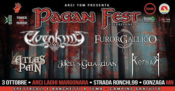 Il Pagan Fest 2020 sarà il 3 ottobre a Mantova