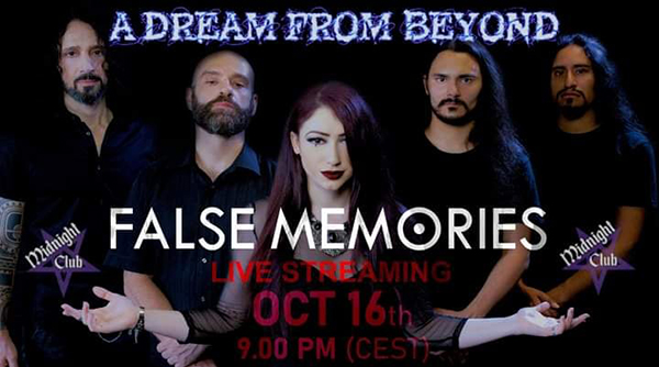 Live streaming per i False Memories