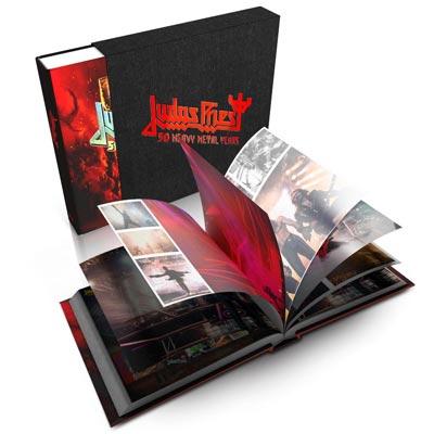 """JUDAS PRIEST: pubblicheranno """"Judas Priest – 50 Heavy Metal Years"""" il primo libro ufficiale"""