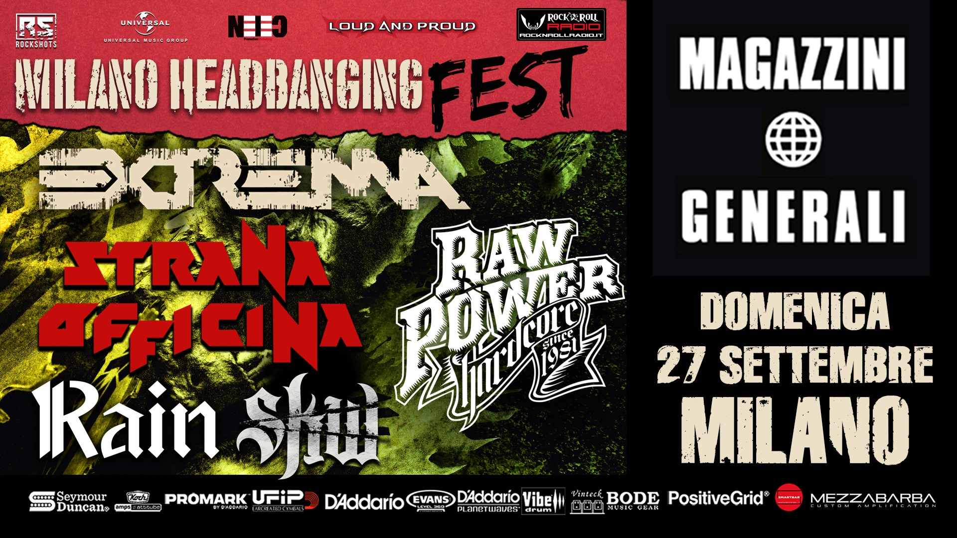 MILANO HEADBANGING FEST 2020: rinviato al 2021 in data da destinarsi