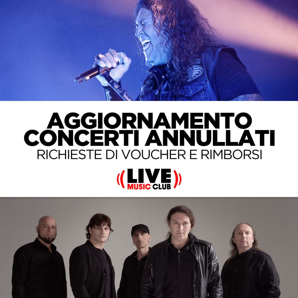 """The Bay Strikes Back Tour"" e ""Turilli / Lione Rhapsody"": richieste di rimborsi e voucher"