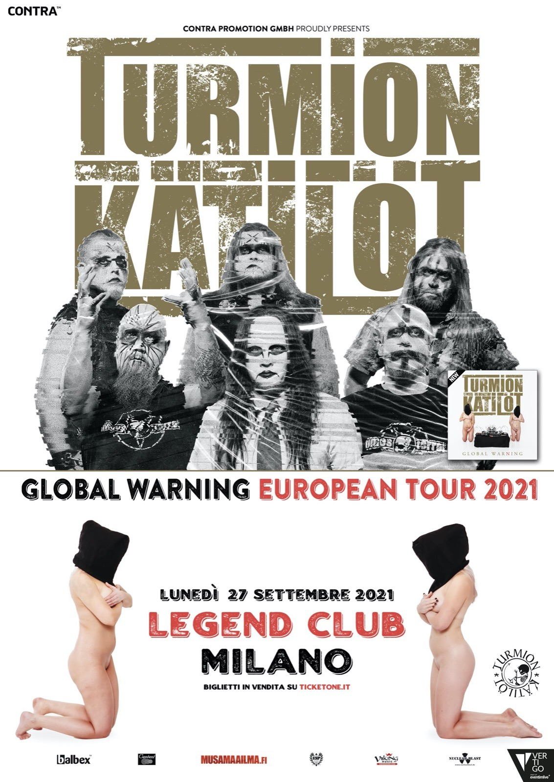 "TURMION KÄTILÖT: il ""Global Warning European Tour"" è rimandato al 2021"